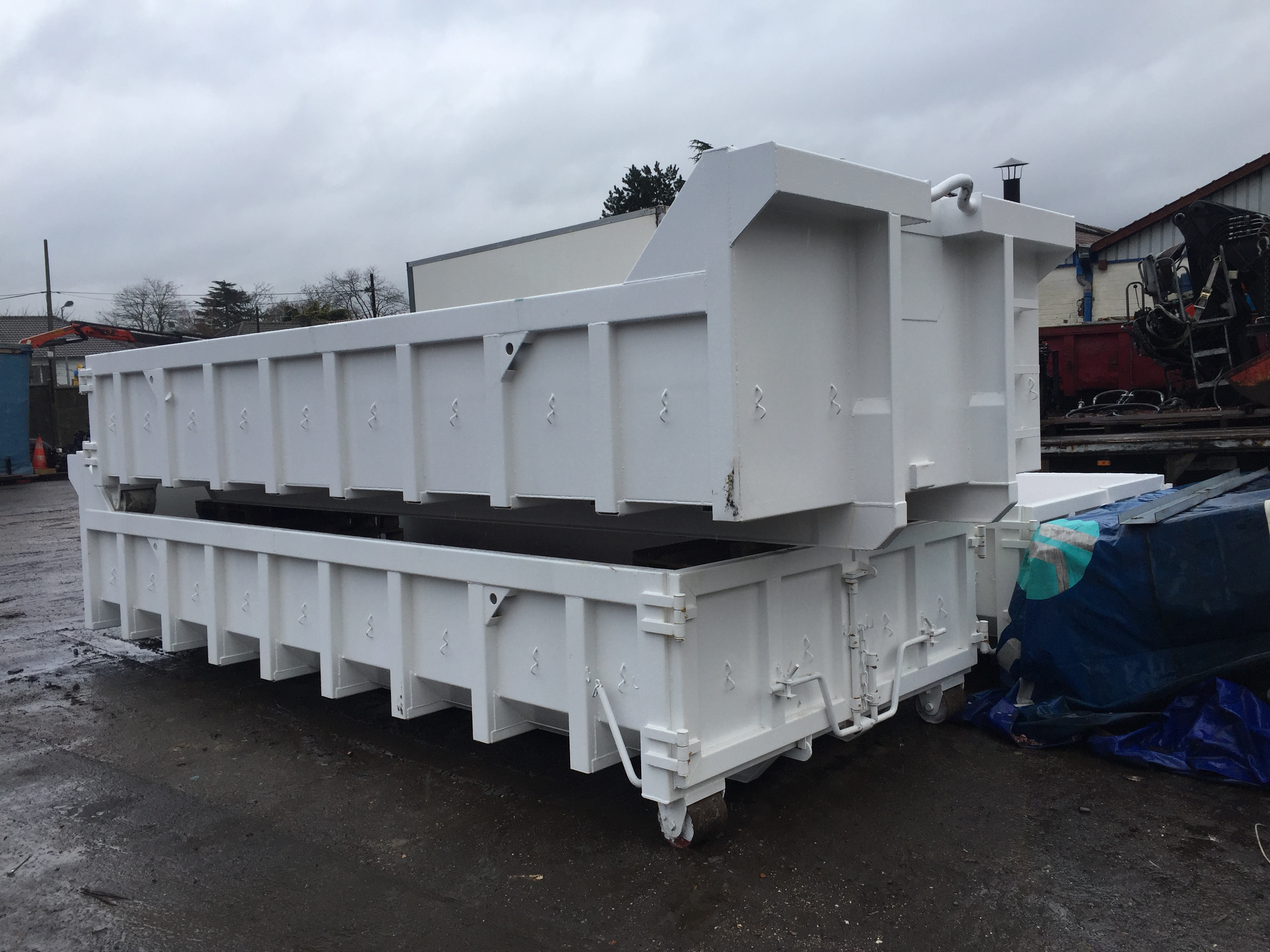 lisse 2019 real achat spécial BENNE TP 10M3 AMPLIROLL